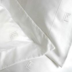 Ultimille Super king size flat sheet, 300 x 290cm, white