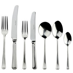 Harley 7 piece place setting, sovereign silver plate