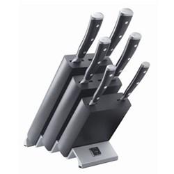 6 piece knife block set
