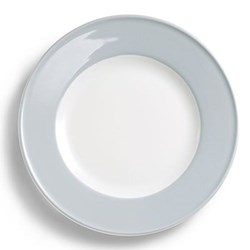 Solid Colour Dessert plate, 21cm, light grey