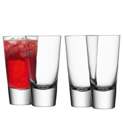Bar Set of 4 long mixer glasses, 31.5cl, clear
