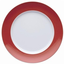 Sunny Day Plate, 27cm, new red