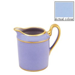 Sous le Soleil Creamer straight sided, 15cl - 6 cup, ice blue with classic matt gold band