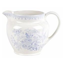 Asiatic Pheasants Dutch jug small, 28.4cl - 1/2pt, blue