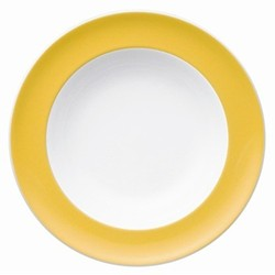 Sunny Day Deep plate, 23cm, yellow
