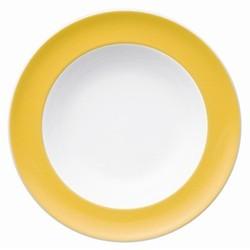 Sunny Day Deep plate, 23cm, yellow