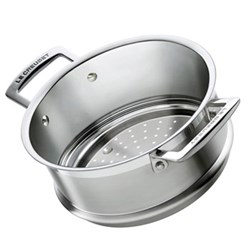 3 Ply Stainless Steel - Uncoated Steamer insert, 20cm