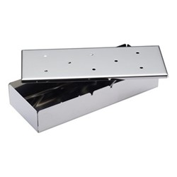 HomeMade Smoker box, 22cm, stainless steel