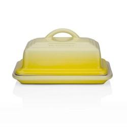 Stoneware Butter dish, 17 x 13 x 9cm, soleil