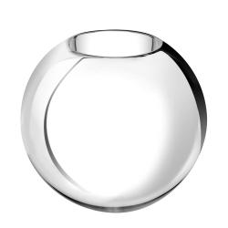 Uni Medium vase, D27 x H23cm, Metallised Glass
