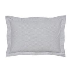 Kahala Oxford pillowcase, L48 x W74cm, silver