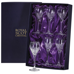 Highland Set of 6 port/sherry glasses