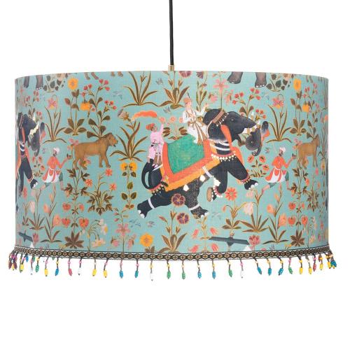 Hindustan Aquamarine Pendant Lamp, H22 x Dia35cm