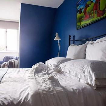 Olivia King size duvet set, 225 x 220cm, white