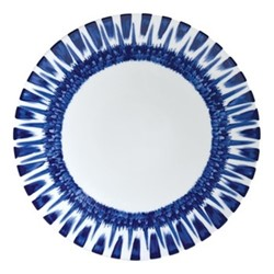 In Bloom Coupe plate, 27cm, blue