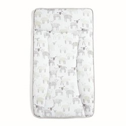 Essentials - Sheep Changing mattress, white/grey