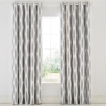Usuko Curtains, L229 x W168cm, rose