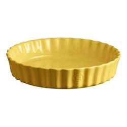 Provence Set of 3 medium tart dishes, D24cm - 115cl, yellow