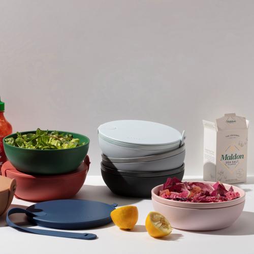 Porter Ceramic lunch bowl, Dia19cm, Slate