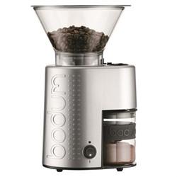 Bistro Electric coffee grinder, silver
