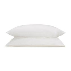 Soft & Smooth Luxury - 600 TC Pair of standard pillowcases, W52 x L77cm, White