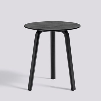 Bella Side table, H49 x W45 x D45cm, black