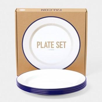 Set of 4 plates 24cm