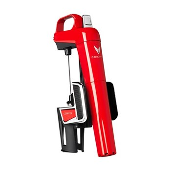 Model Two Elite Wine opening system, red