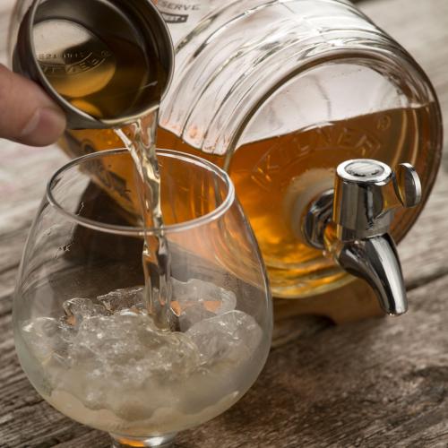 Barrel dispenser, 1 litre