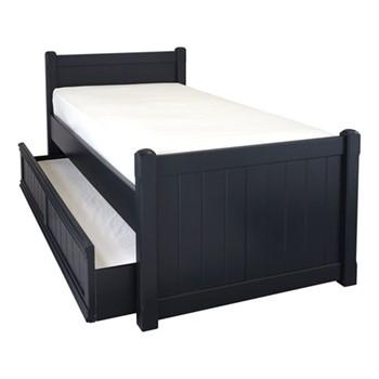 Charterhouse Sleepover bed, L203 x W98 x H92cm, prussian blue