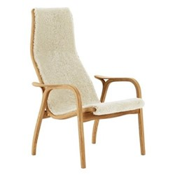 Lamino Chair, W70 x D78 x H101cm, oak