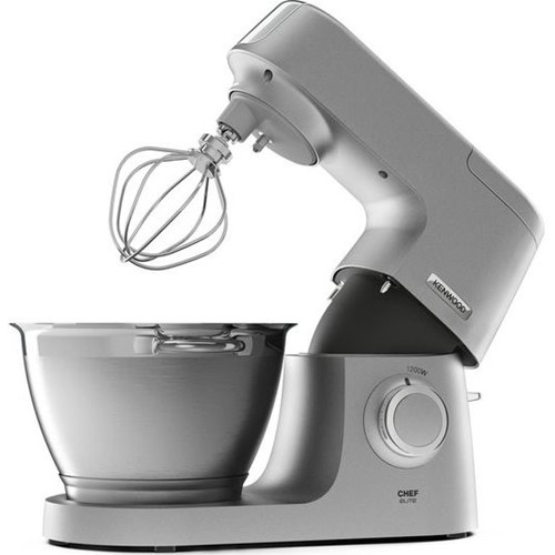 Chef Elite KVC5320S Stand Mixer with glass blender, Silver