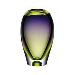 Vision Vase, H25.5cm, purple/green