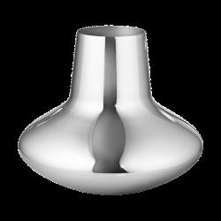 Henning Koppel Large vase, H22.2 x D27cm, Silver