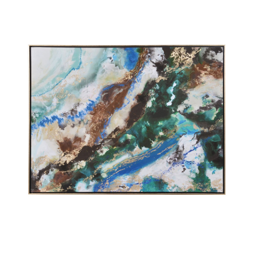 Abstract Painting, H93 x W12cm, Multi