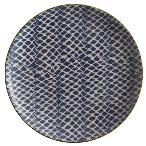 Laguna Laguna Plate Woven Blue, Multi