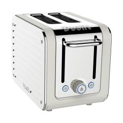 Architect 2 slot toaster, Canvas White