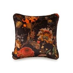 Artemis Medium velvet cushion, 45 x 45cm, black