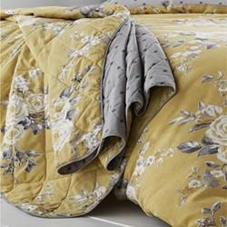 Canterbury Bedspread, 220 x 230cm, ochre