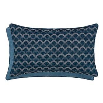 Soller Cushion, L30 x W50 x H10cm, blue