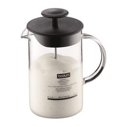 Latteo Milk frother, 25cl, black