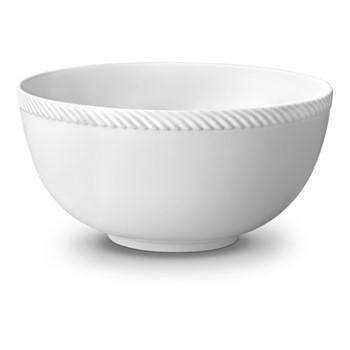 Corde Large bowl, 23cm, white