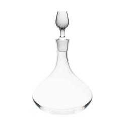Twist Wine decanter, Clear Crystal