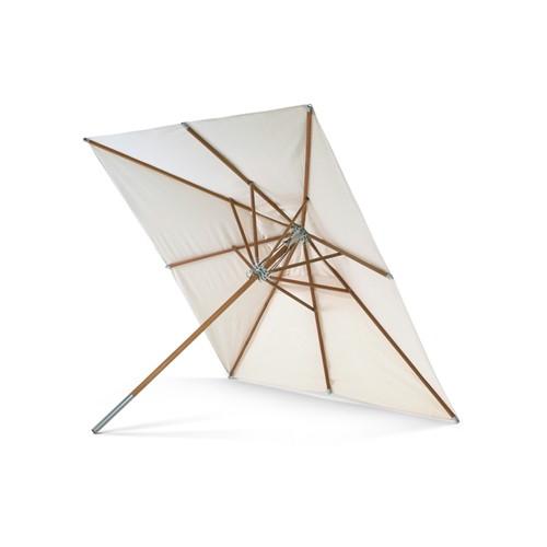 Atlantis Square parasol, Dia330 x H277cm, White