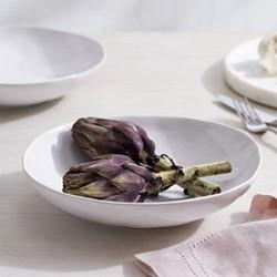 Portobello Pasta bowl, H5.7 x W22.7 x L23.3cm, white