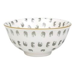 ZSL Elephant Nibbles bowl, D5 x H11.5cm, multi