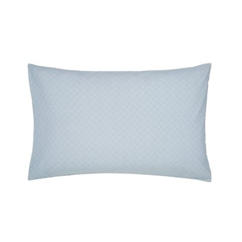 Chinese Bluebird Pair of standard pillowcases, L48 x W74cm, aqua