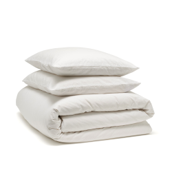 Relaxed Bed linen bundle, King, snow