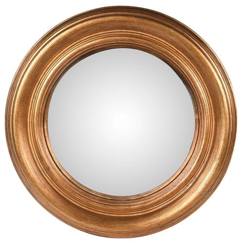Mirror, Dia35cm, Gold