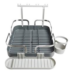 Holster Dish rack, H15 x W34cm, charcoal